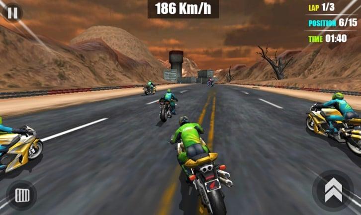 Traffic-Moto-GP-Rider