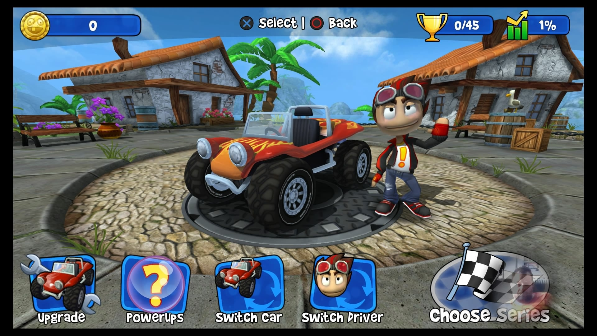 Download Beach Buggy Racing Apk + Mod (Unlimited, Unlocked)