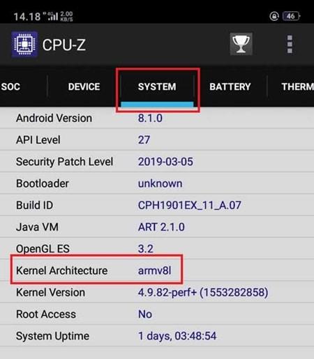 Cara-Melihat-Versi-Arm-di-Android