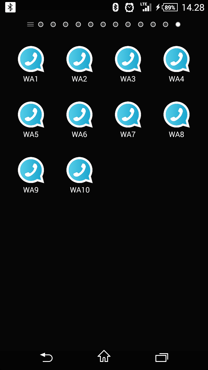 Cara Memasang Apliaksi WhatsApp Clone Apk Mod