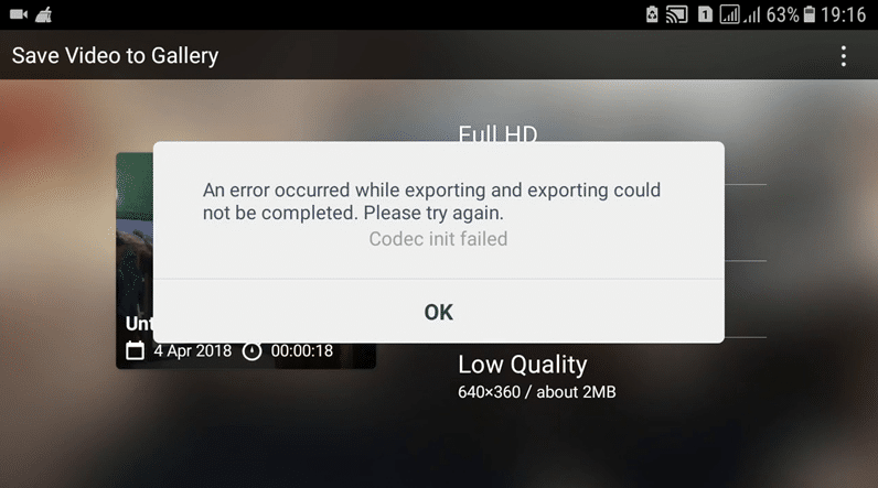 Kesalahan-Mengekspor-Di-Android