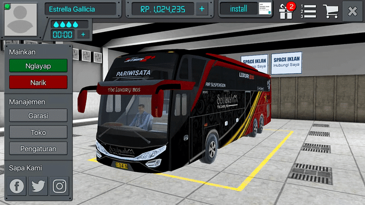 Download Bus Simulator Indonesia Bussid V3 2 Apk Mod