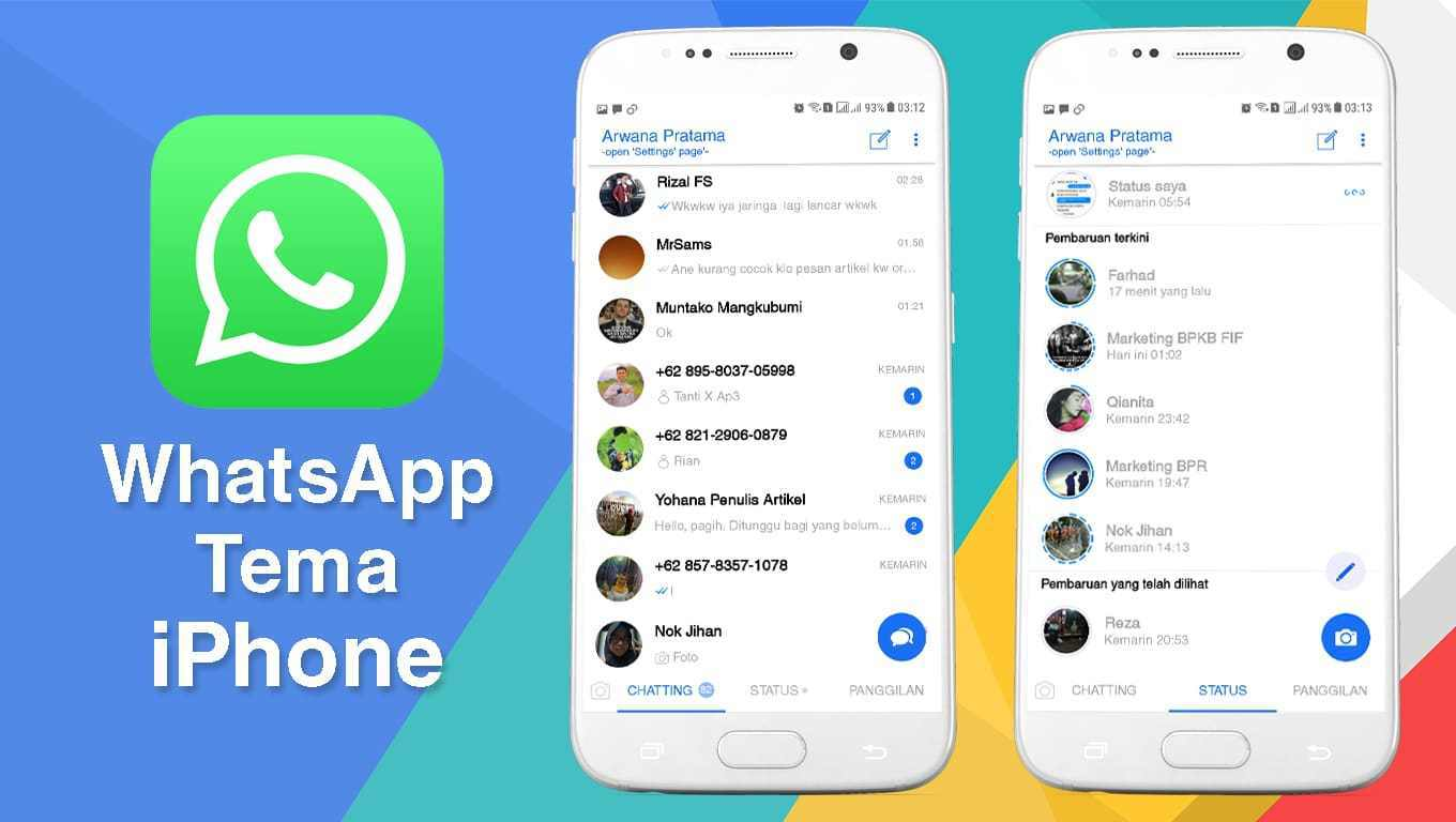 Download WhatsApp Iphone Mod iOS 1 v1.1 Anti Banned Latest